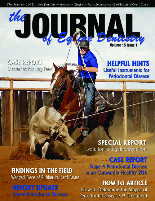 Journal of Equine Dentistry - Volume 15 Issue 1